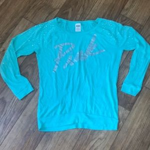 Pink long sleeve T